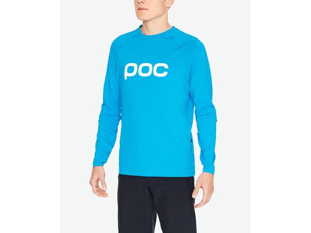 POC Essential Enduro Jersey Heren, furfural blue